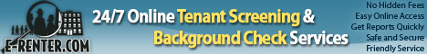 E-Renter.com Online Tenant Screening and Background Check Services
