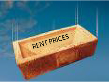rent prices falling